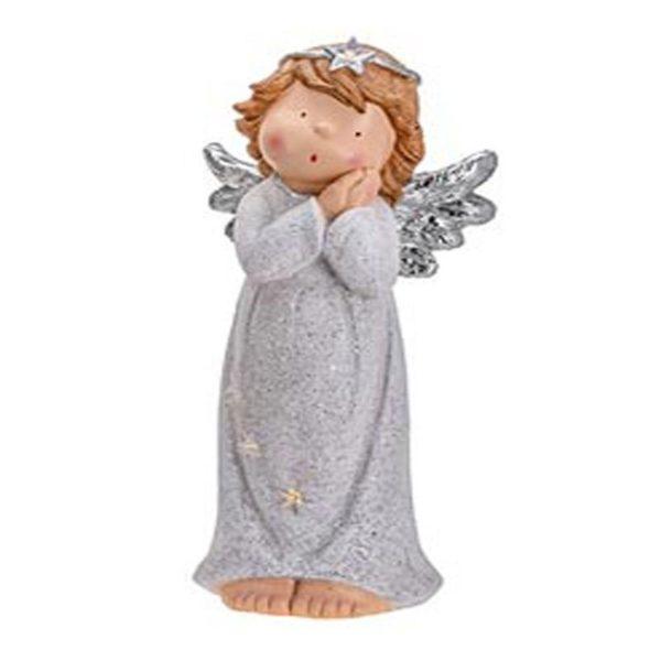 Άγγελος Κεραμικός Με Φως 'Prayer' 32x24x71, B