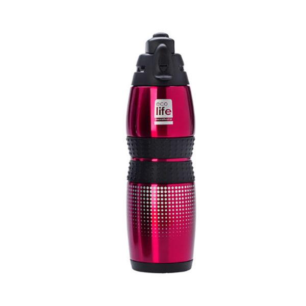 Ανοξείδωτο Μπουκάλι Θερμός Κόκκινο 400ml