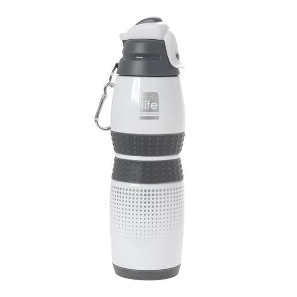 Ανοξείδωτο Μπουκάλι Θερμός Λευκό 400ml