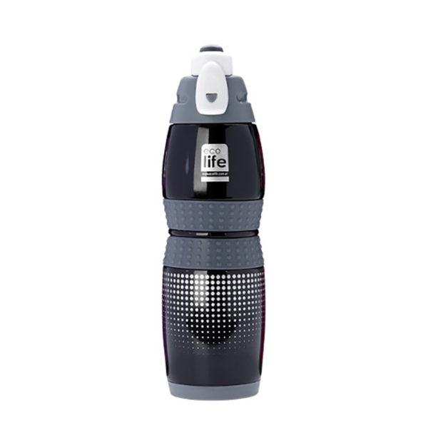 Ανοξείδωτο Μπουκάλι Θερμός Μαύρο 400ml