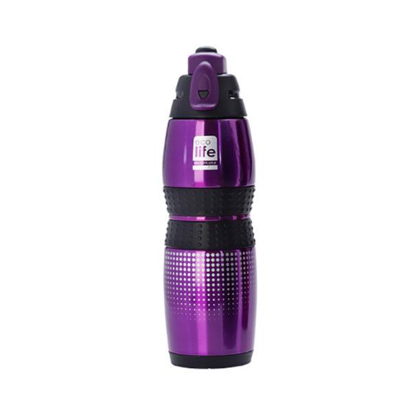 Ανοξείδωτο Μπουκάλι Θερμός Μωβ 400ml