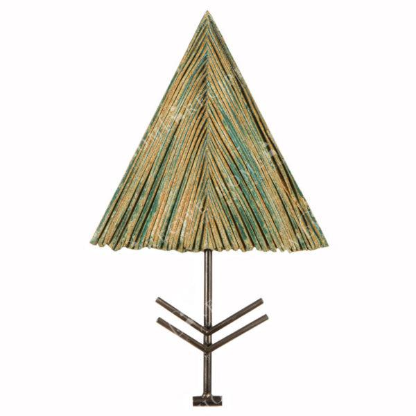 Χειροποίητο Ελληνικό Γλυπτό 'Δέντρο Τρίγωνο' Y30