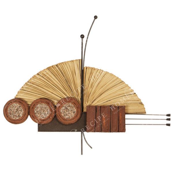 Χειροποίητο Ελληνικό Γλυπτό 'Πεταλούδα Γ' 100x120