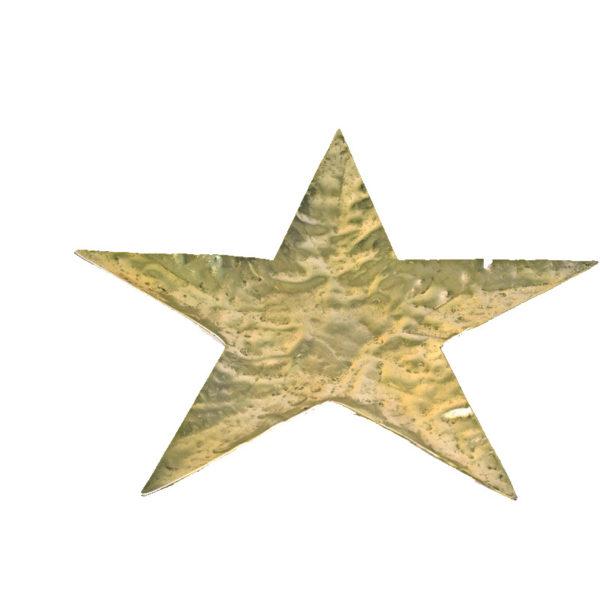 Χριστουγεννιάτικη Διακοσμητική Βάση Αλουμινίου Αστέρι Χρυσό L