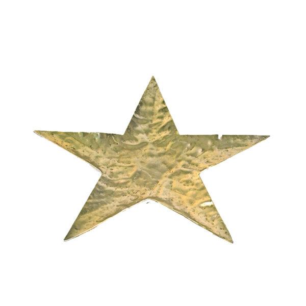 Χριστουγεννιάτικη Διακοσμητική Βάση Αλουμινίου Αστέρι Χρυσό S