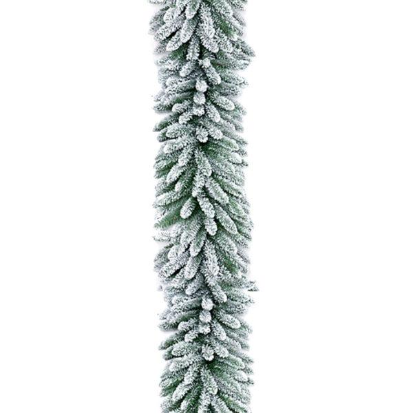 Χριστουγεννιάτικη Γιρλάντα Χιονισμένη Flock Y270, 240 Tips