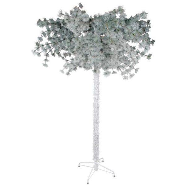 Χριστουγεννιάτικο Χιονισμένο Δέντρο Ανάποδο Δ150 Υ230