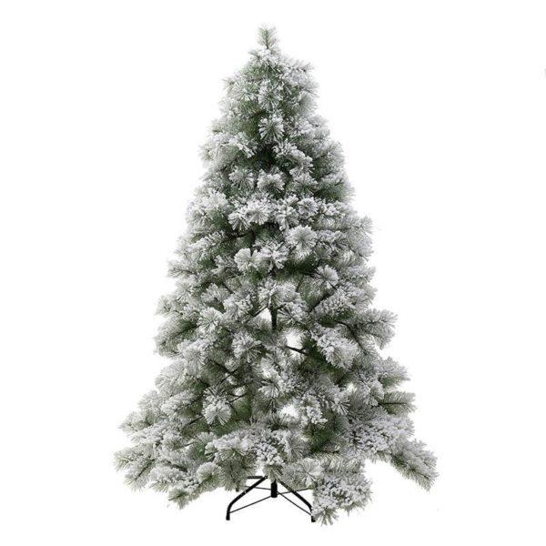 Χριστουγεννιάτικο Δέντρο Χιονισμένο Με Πευκοβελόνες Υ180, 367 Tips