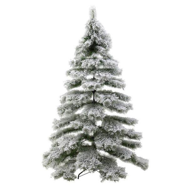 Χριστουγεννιάτικο Δέντρο Χιονισμένο Με Πευκοβελόνες Υ240, 759 Tips