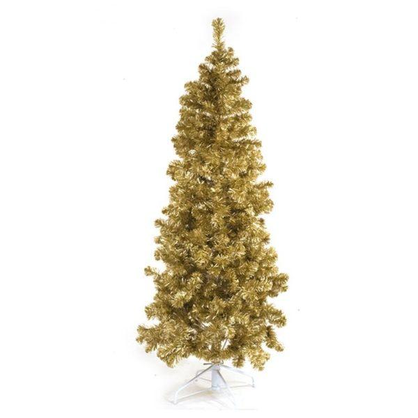 Χριστουγεννιάτικο Δέντρο Ματ Χρυσό Y210 | ZAROS