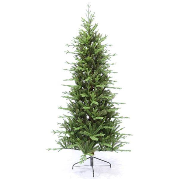 Χριστουγεννιάτικο Δέντρο Πράσινο Ασύμετρο 'Slim Tree' Y210 | ZAROS
