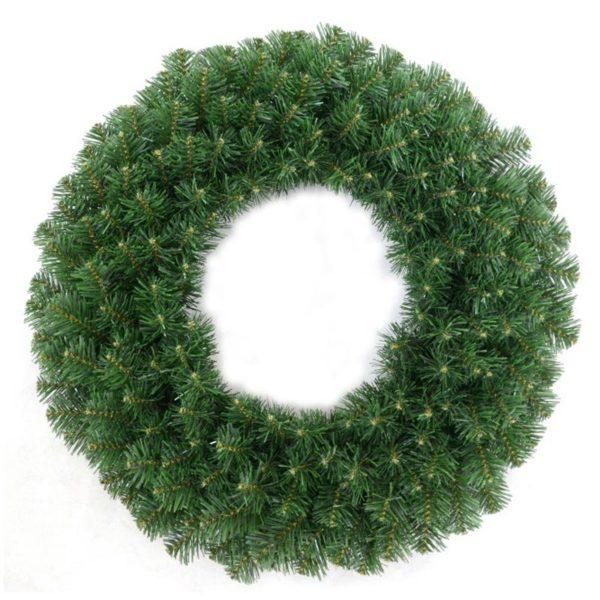 Χριστουγεννιάτικο Στεφάνι Ελάτου Πράσινο Δ60 | ZAROS
