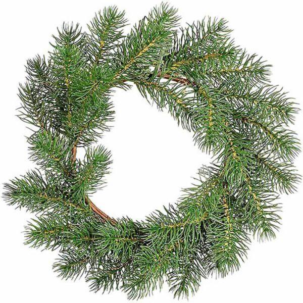 Χριστουγεννιάτικο Στεφάνι Πεύκο Δ20
