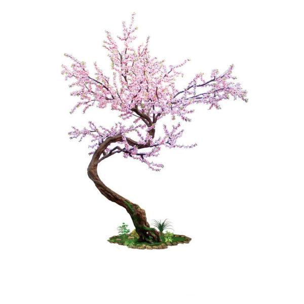 Δέντρο Αμυγδαλιά Με Ροζ Άνθη Υ330