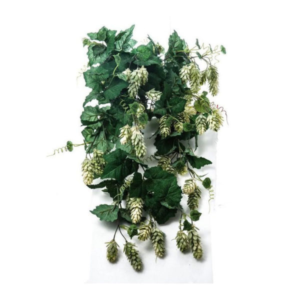 Διακοσμητική Ρίζα Κρεμαστή Πράσινη Λυκίσκος Υ60