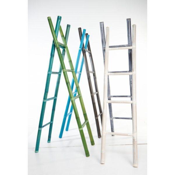 Διακοσμητική Σκάλα Από Φυσικό Bamboo Washed, Σε Διάφορα Χρώματα Υ200