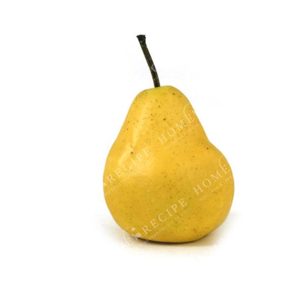 Διακοσμητικό Αχλάδι Κίτρινο Υ10.5
