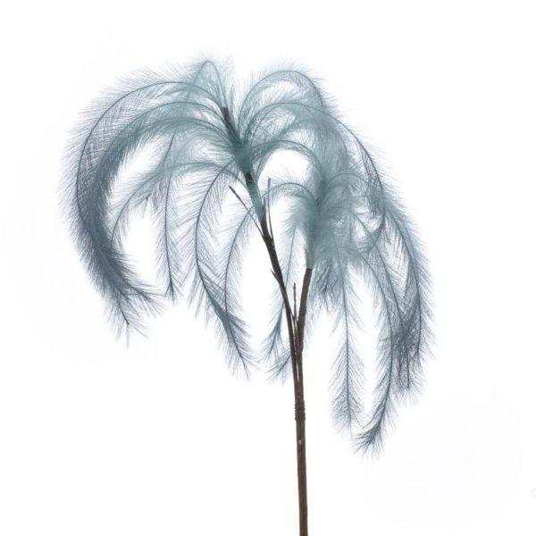 Διακοσμητικό Φτερό/ Κλαδί Μπλε Υ116