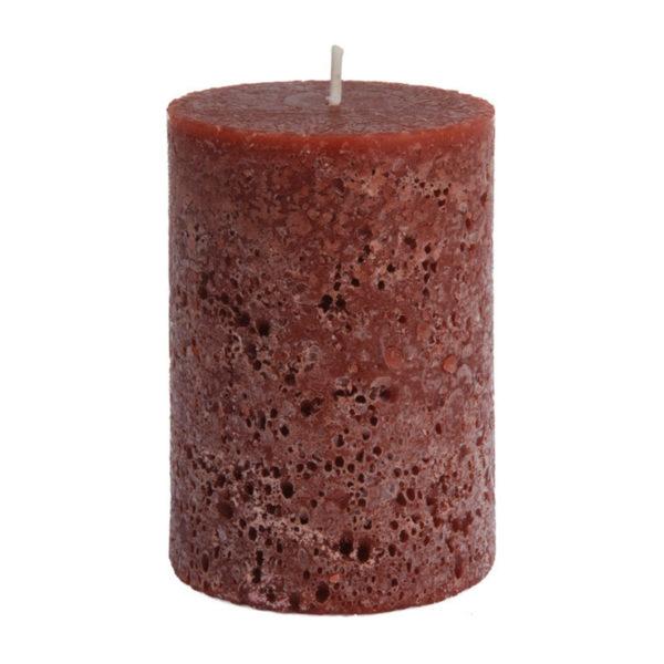 Διακοσμητικό Κερί Κορμός ''Stone Finish'' Μελί