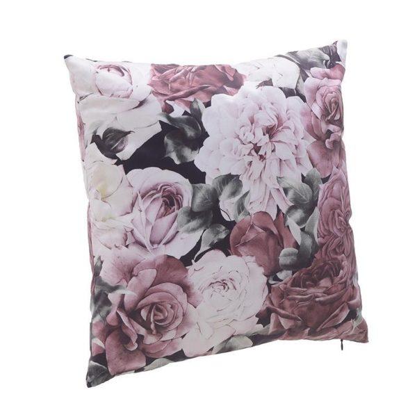 Διακοσμητικό Μαξιλάρι Βελούδινο Floral 'Victorian' 50x50