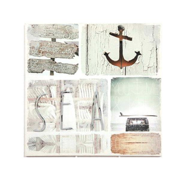 """Διακοσμητικός Καμβάς """"Sea"""" 60x60"""