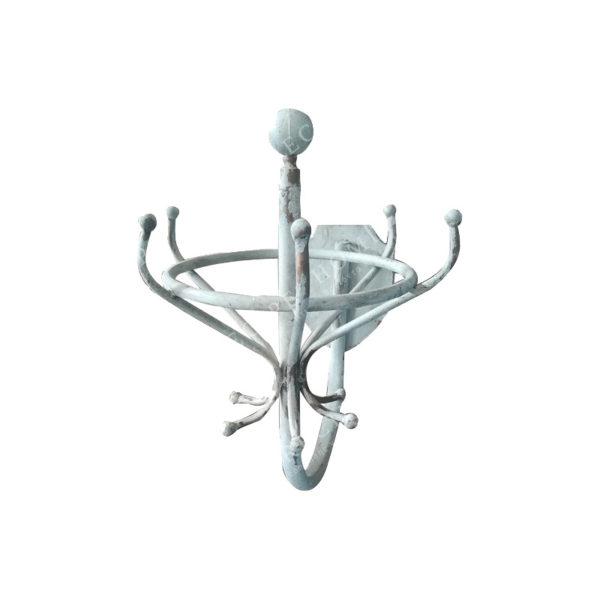Επιτοίχιος Μεταλλικός Καλόγερος Κυκλικός 36.5x48x55