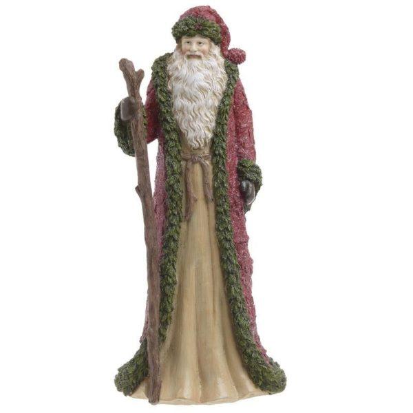 Επιτραπέζιο Διακοσμητικό Άγιος Βασίλης Y34 Inart