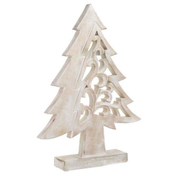 Επιτραπέζιο Διακοσμητικό Δέντρο Ξύλινο Natural Beige Υ44