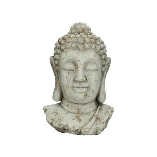 Επιτραπέζιο Διακοσμητικό Προτομή 'Βούδας' Με Παλαίωση Υ32