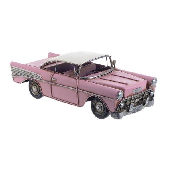 Επιτραπέζιο Μεταλλικό Διακοσμητικό Αυτοκίνητο 'Pink Cadillac' Μ29 Υ10