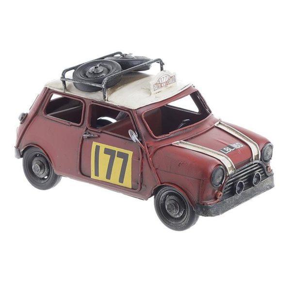 Επιτραπέζιο Μεταλλικό Διακοσμητικό 'Αγωνιστικό Minnie' Κόκκινο Μ23 Υ11.5