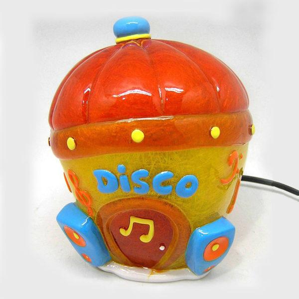 Επιτραπέζιο Παιδικό Φωτιστικό Πολύχρωμο Disco