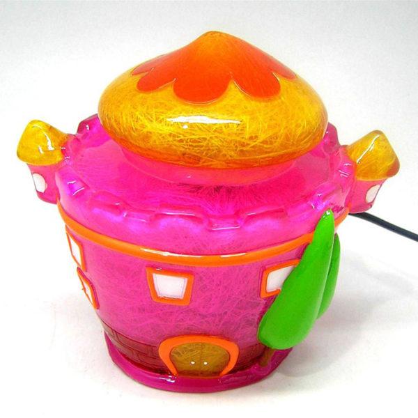 Επιτραπέζιο Παιδικό Φωτιστικό Πολύχρωμο Κάστρο
