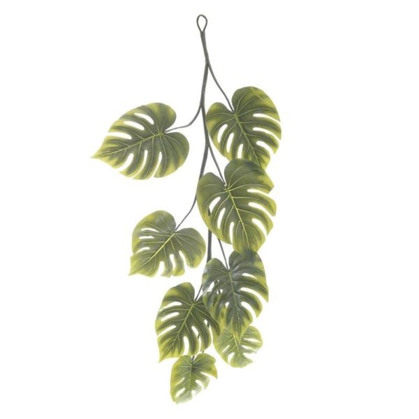 Γιρλάντα Με Φύλλωμα Μονστέρα Πράσινο Υ130