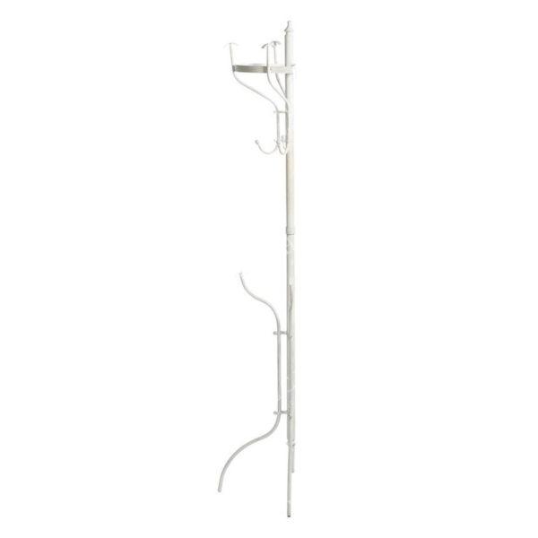 Καλόγερος Μεταλλικός Λευκός 55x21x175