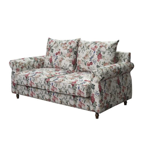 Καναπές 2θεσιος Floral Με Πολύχρωμα Λουλουδάτα Μοτίβα 'Romance' Μ180