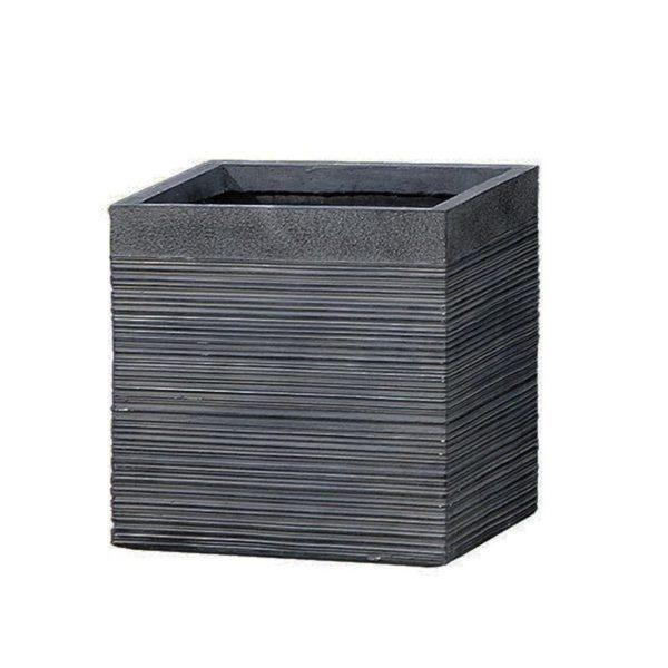 Κασπώ Πήλινο Τετράγωνο Smokey Grey 30x30x30.5