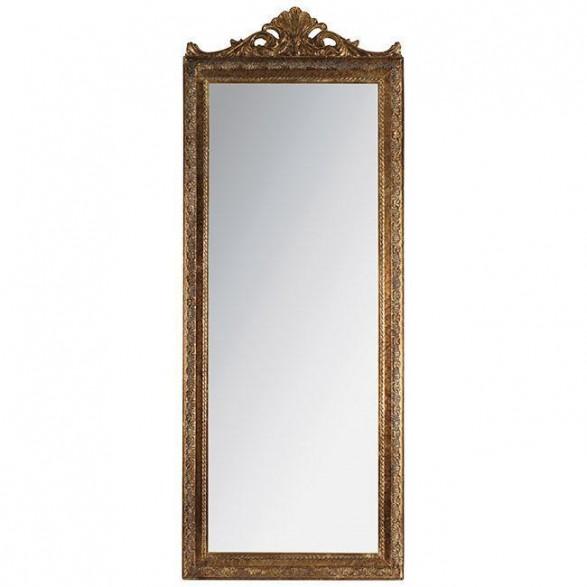 Καθρέπτης Polyresin Αντικέ Χρυσός 50x130