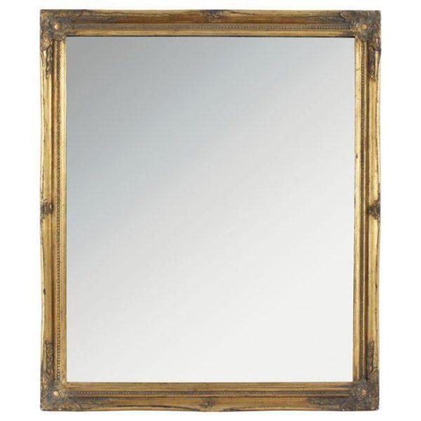 Καθρέπτης Polyresin Αντικέ Χρυσός