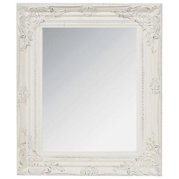 Καθρέπτης Polyresin Αντικέ Εκρού