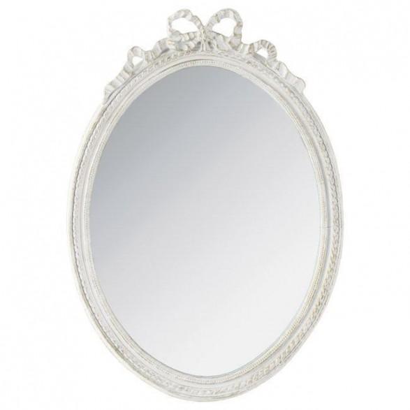 Καθρέπτης Polyresin Αντικέ Λευκός 37x51