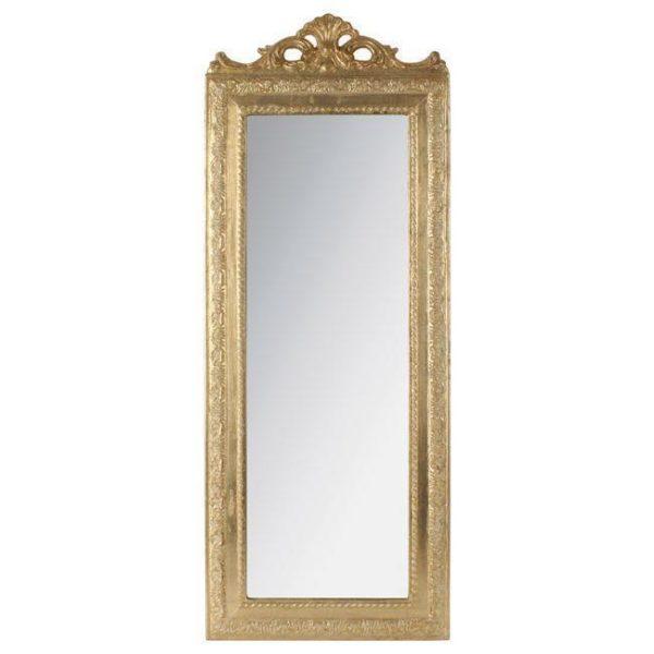 Καθρέπτης Polyresin Χρυσός
