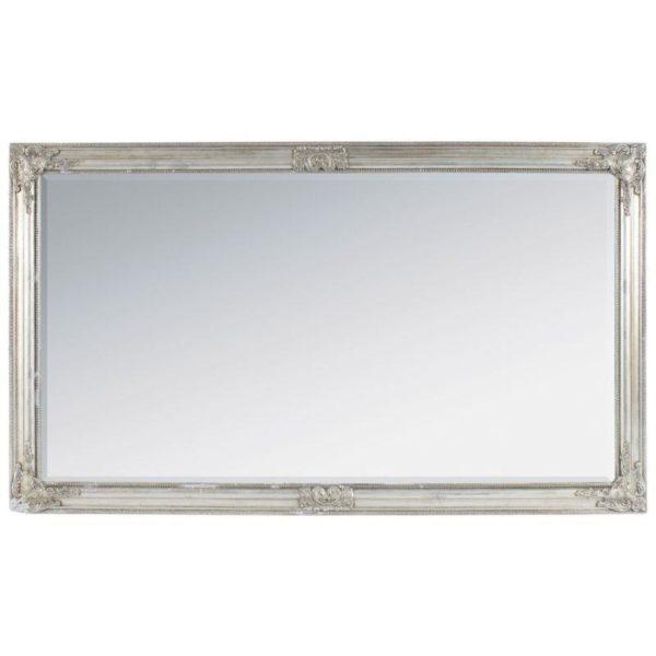 Καθρέπτης Polyresin Σαμπανί/ Ασημί