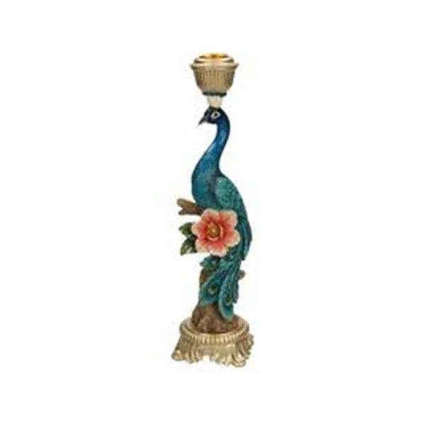 Κηροπήγιο Πολύχρωμο 'Peacock' Υ29