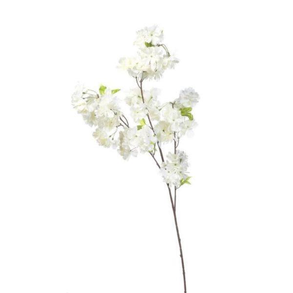 Κλωνάρι Ροδακινιά Με Λευκά Ανθακια Υ107