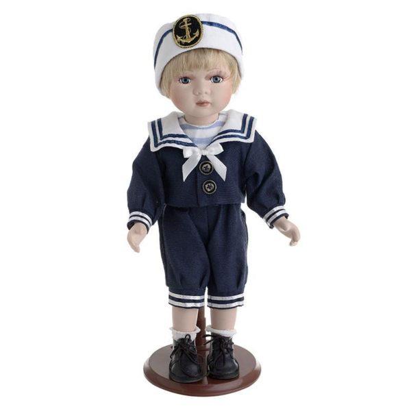 Κούκλα Πορσελάνινη Αγόρι Ναυτάκι Υ34