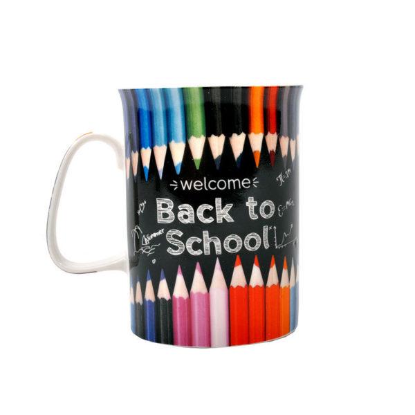 Κούπα Πορσελάνινη Πολυχρωμία ''Back To School''