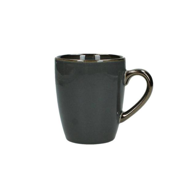 Κούπα Stoneware Βαθύ Γκρι Υ12.5