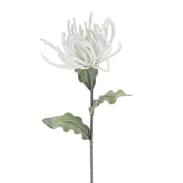 Λουλούδι Εξωτικό Υφασμάτινο Λευκό Υ85