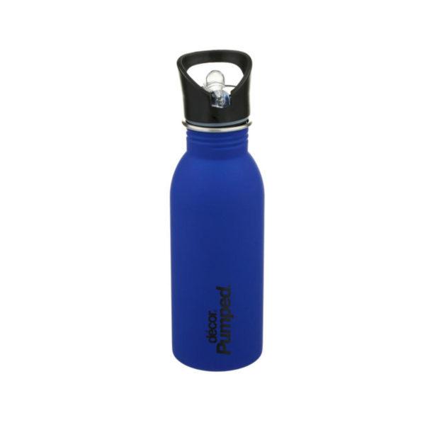 Μεταλλικό Ανοξείδωτο Μπουκάλι Μπλε 500ml